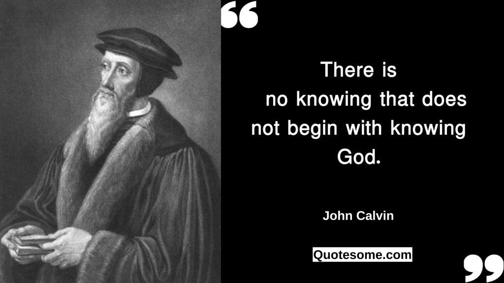 John Calvin Quotes