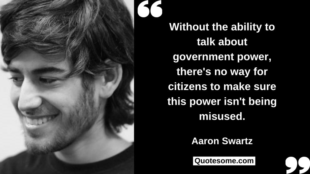 Aaron Swartz Quotes