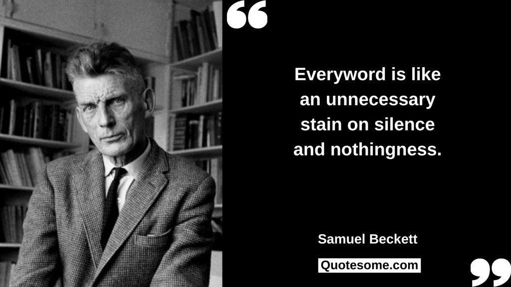 Samuel Beckett Quotes