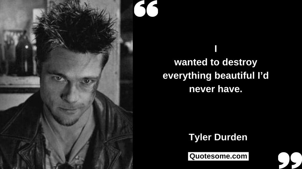 Tyler Durden Quotes