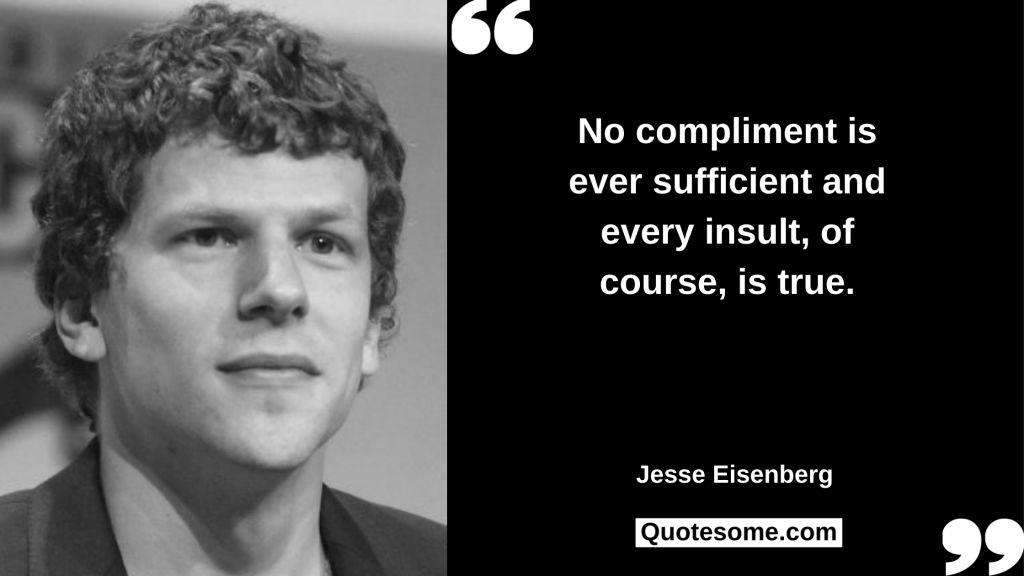 Jesse Eisenberg Quotes