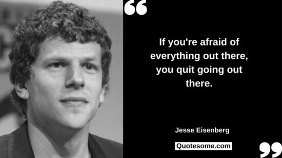 Jesse Eisenberg Quotes