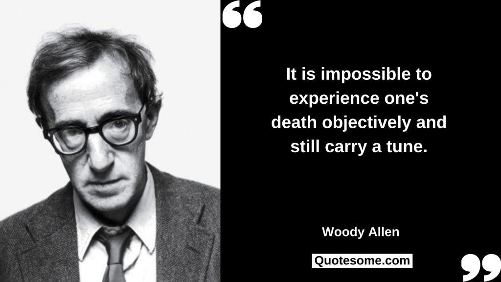 Woody Allen Quotes
