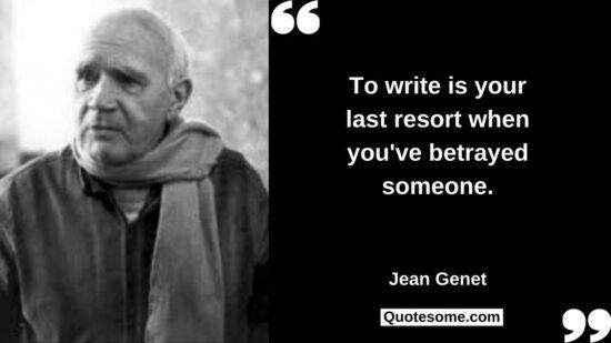 Jean Genet Quotes