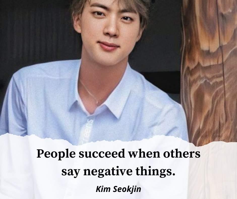 Kim Seokjin quotes