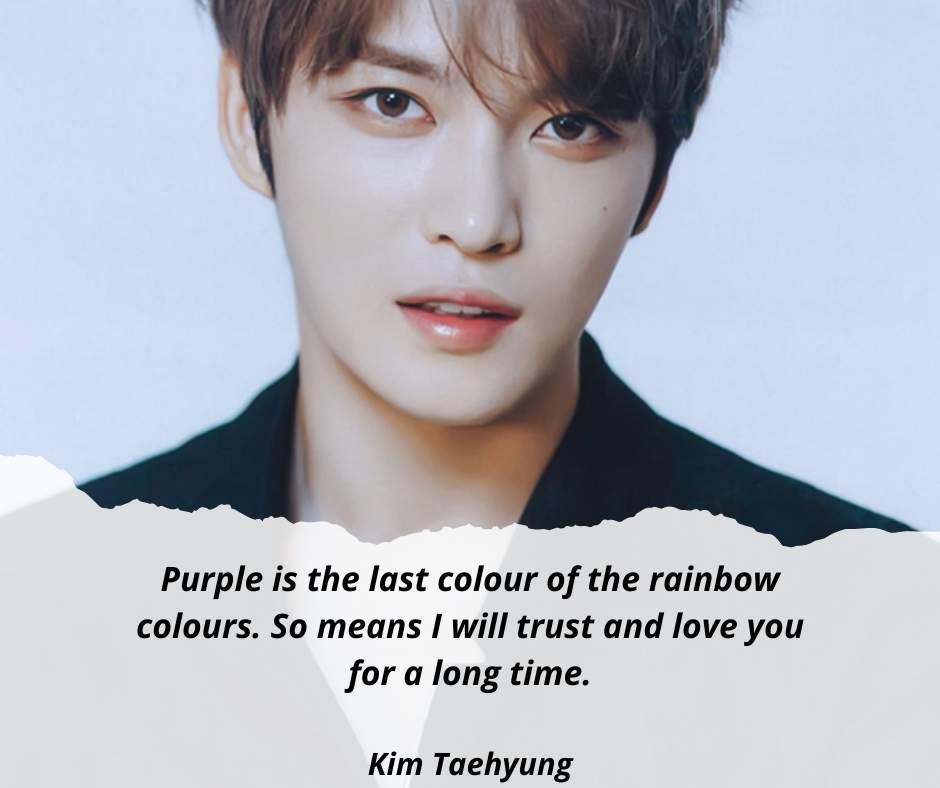 Kim Taehyung quotes