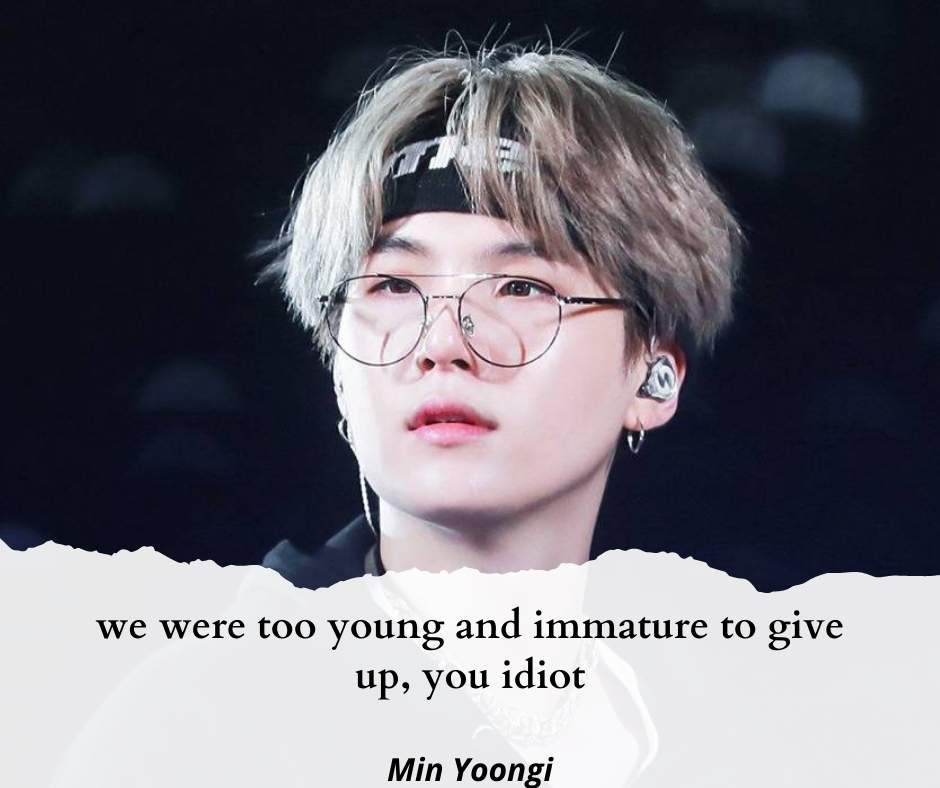 Min Yoongi quotes
