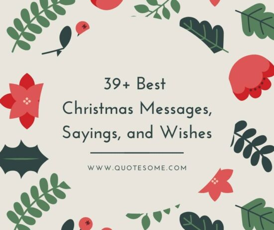 39+ Ready-Made Merry Christmas Quotes