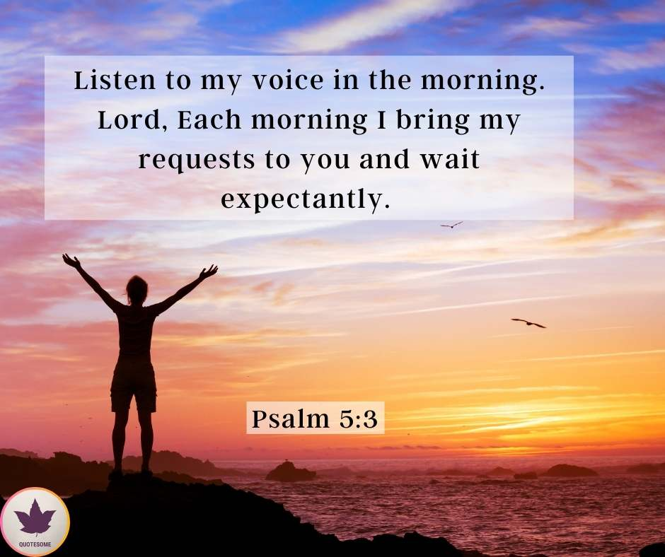 Good Morning Bible Quotes