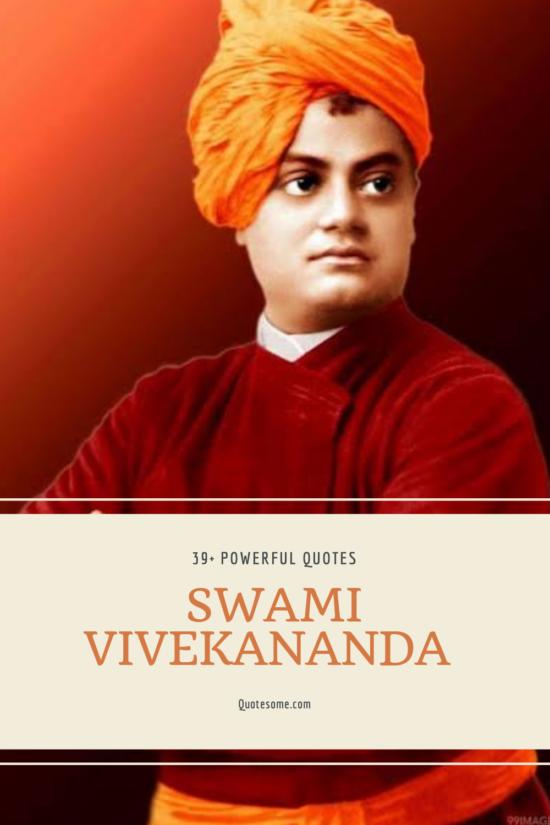 39+ Heartwarming Swami Vivekananda Quotes in Hindi and English